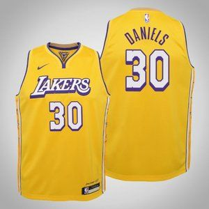 Women Lakers #30 Troy Daniels City Jersey